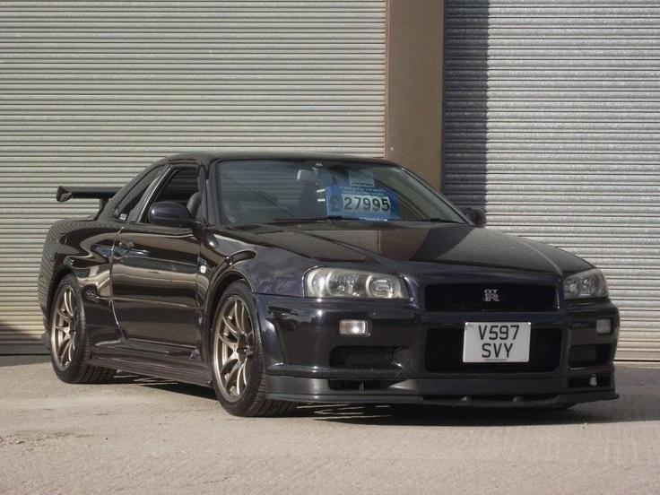 1999 Nissan Skyline R34 2.6 GTR £30,000 Nissan skyline