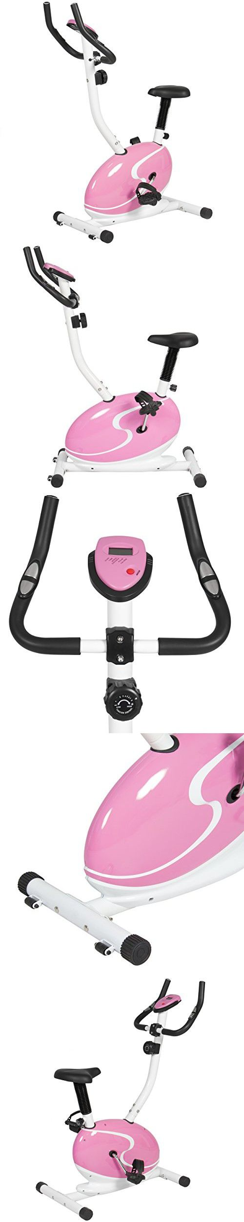 Stamina magnetic upright 5325 exercise bike - Best Choice Products Pink Magnetic Upright Exercise Bike Fitness Cycling Bicycle Cardio Workout