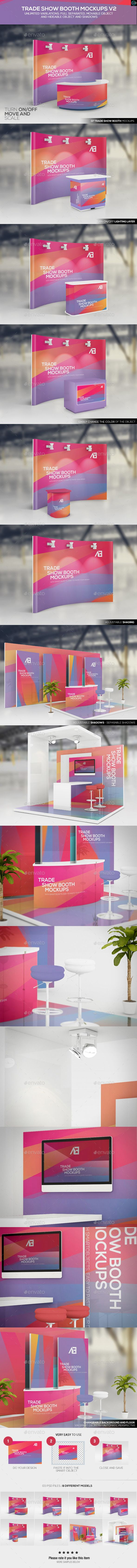 Trade Show Booth Mockups. Download: http://graphicriver.net/item/trade-show-booth-mockups-v2/11170591?ref=ksioks
