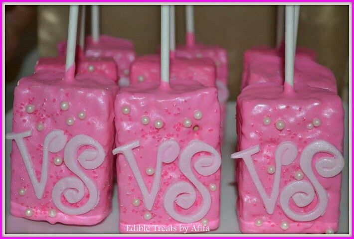 Victoria Secret Rice Krispie Treats