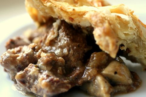 beef, mushroom & red wine pie… | Real Italian Foodies