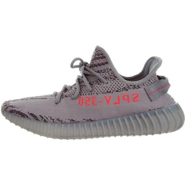 Pre-owned Yeezy x Adidas Boost 350 V2 Beluga 2.0 Sneakers ($525) ? liked on  Polyvore featuring men\u0027s fashion, men\u0027s shoes, men\u0027s sneakers, grey, men\u0027s  low ...