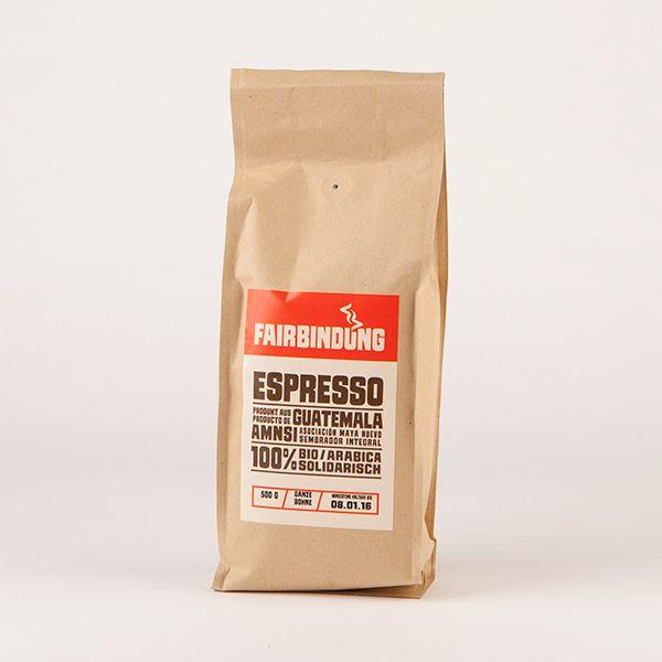 Espresso ganze Bohne 500 g
