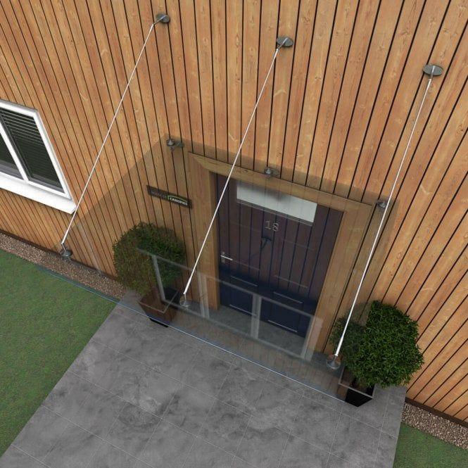 Glass Door Canopy With Tie Rods Type P Door Canopy Door Canopy Designs Glass Door