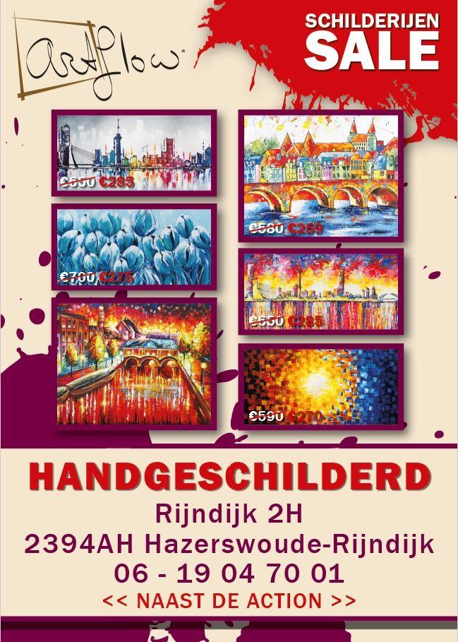 Grafisch ontwerp voor kunst verkoop in samenwerking met Art Flow. #sale #art #kunst #design #poster #schilderen #schilderijen #schilder #painting #verkoop #uitverkoop #drukwerk #network #zzp #kunstenaar #verf #paint #rotterdam #leiden #zoeterwouderijndijk #holland