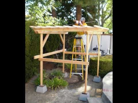 30 best images about tallies for my garden on pinterest grow your own trellis design and - How to build a grape vine support the natural roof ...