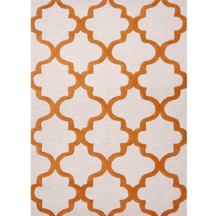 Jaipur Tangerine 8x11 Wool Rug Weekends Only Furniture