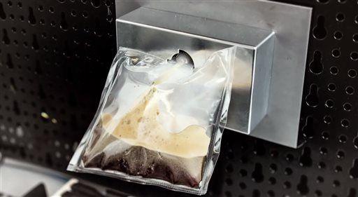 ISSpresso, An Italian Espresso Machine Designed for the International Space Station