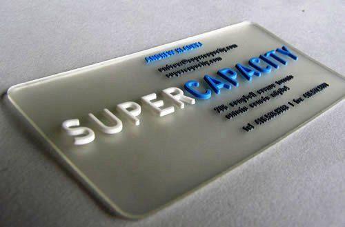 Desain Kartu Nama Unik tidak Biasa | plate like business card