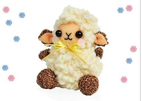 Ravelry: Knitted Sheep pattern by Bethany Rose Hines