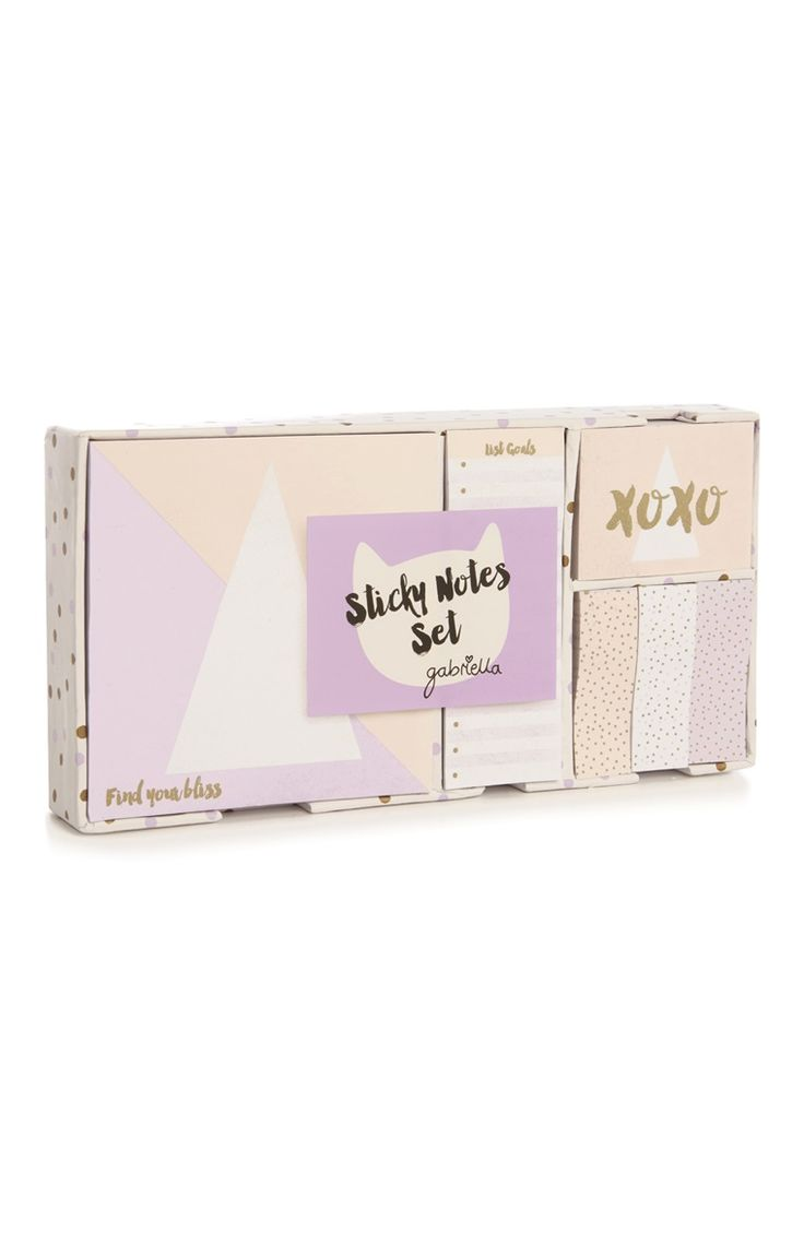 Primark - Gabriella Geo Sticky Note Set