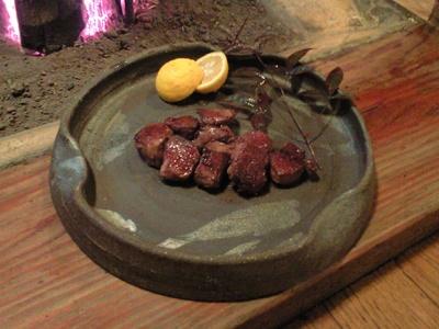 猪ヘレ ひとくちステーキ(いわや)#sasayama