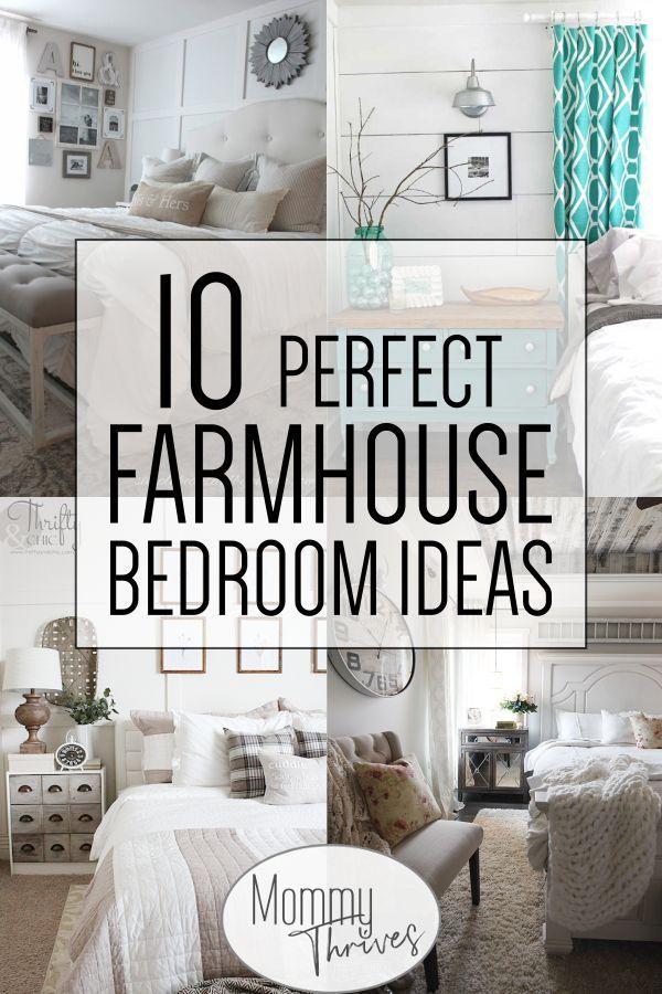 Chic Home Decor Ideas In 2020 Farmhouse Bedroom Master Bedrooms Decor Farmhouse Bedroom Decor