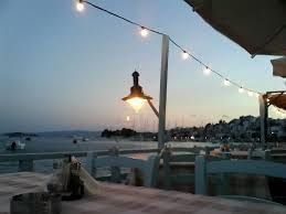 Pyrofani restaurant in the new port area of Skiathos Town - a traditional tavern with fresh fish and meze.  Tripadvisor #15
