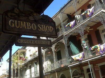 The Gumbo Shop  The best crawfish etouffee!