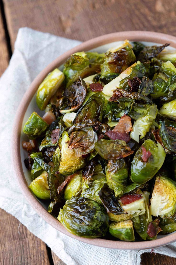 bacon brussels sprouts recipe sublime sides steak side rh pinterest com