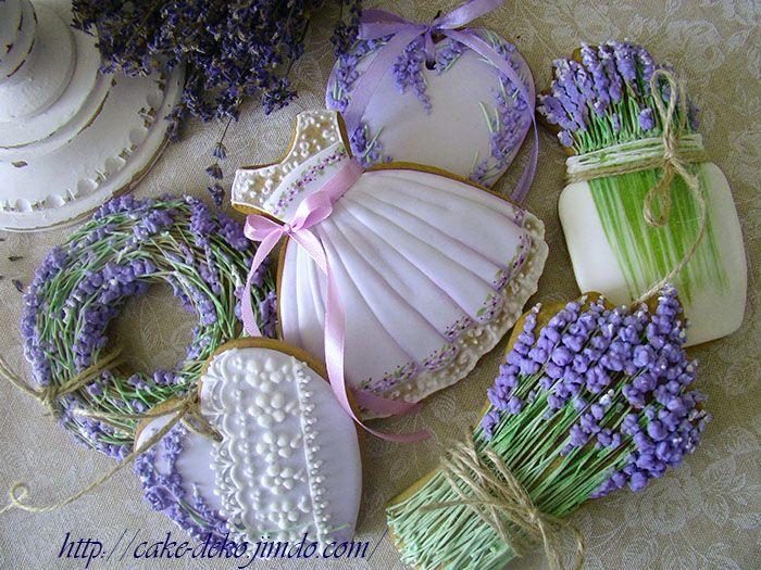 Lavender Dress Cookie