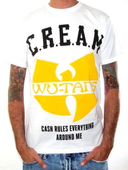c.r.e.a.m. tshirt | Wu-Tang Clan T-Shirt - CREAM