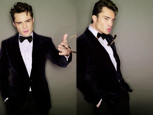 Chuck Bass.This is a Tux. You bet my Groom will be looking as hot as this.