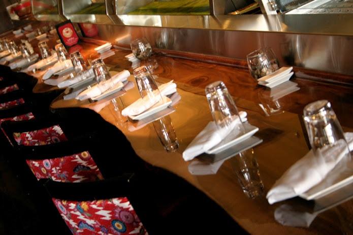 22-seat sushi bar at Dragonfly Orlando