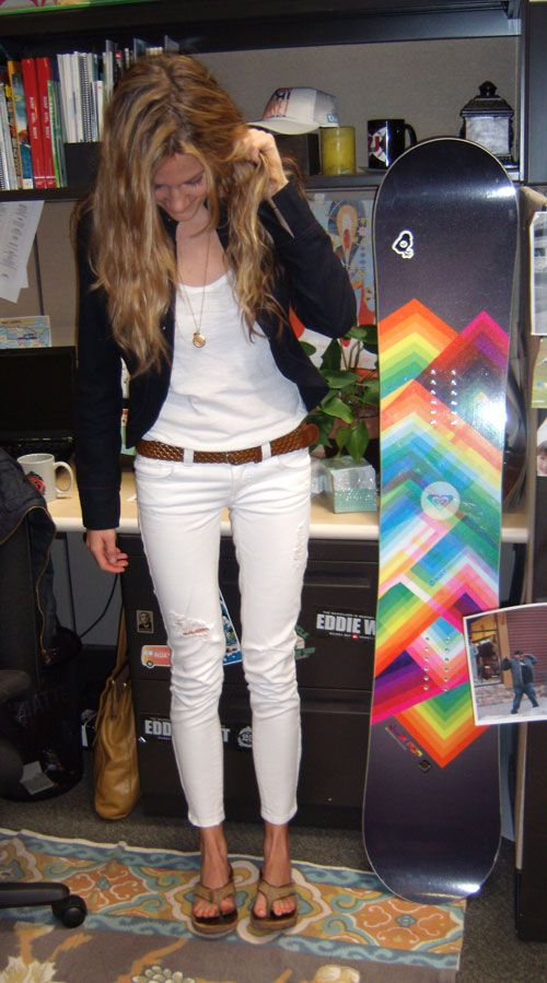 1000  images about white jeans on Pinterest   Bell bottom jeans ...