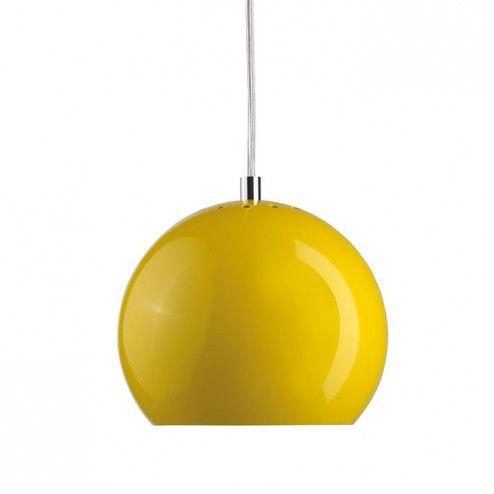Frandsen Ball Pendel Glossy Gul
