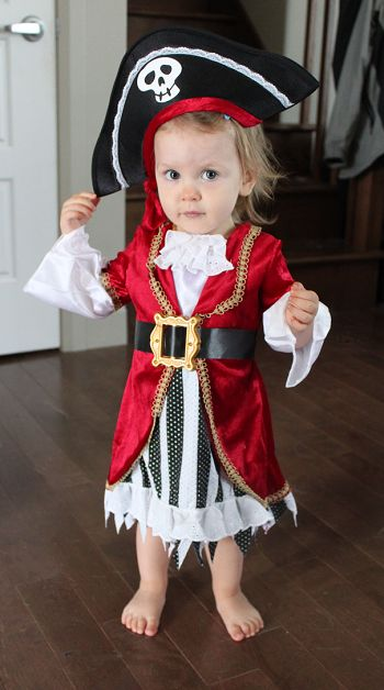 costume discounters toddler pirate costume review