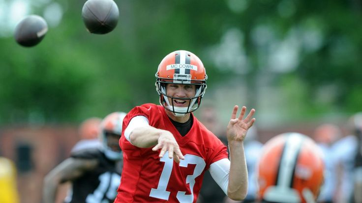 Josh McCown Browns | Josh McCown's success will depend on the rushing attack: 2015 ...
