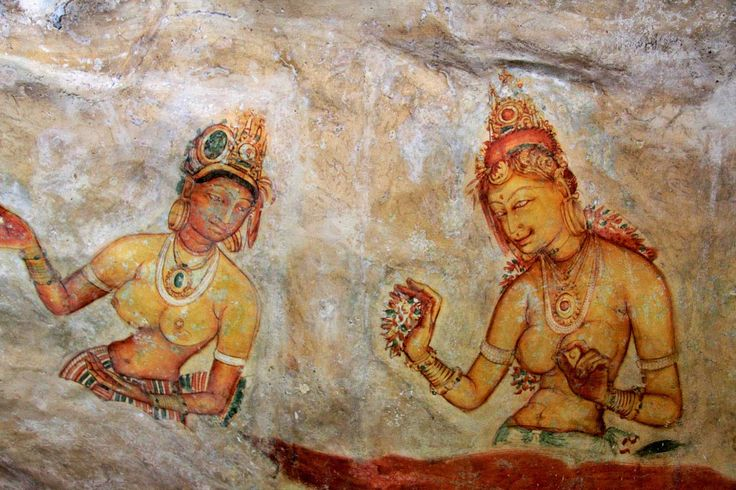 Murals at Sigiriya