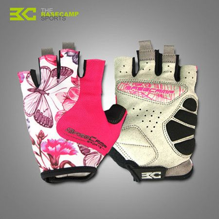 BASECAMP Cycling Gloves Women Men High Quality Non-Slip Breathable MTB Bicycle Cycling Half Finger Gloves bicycle accessories
