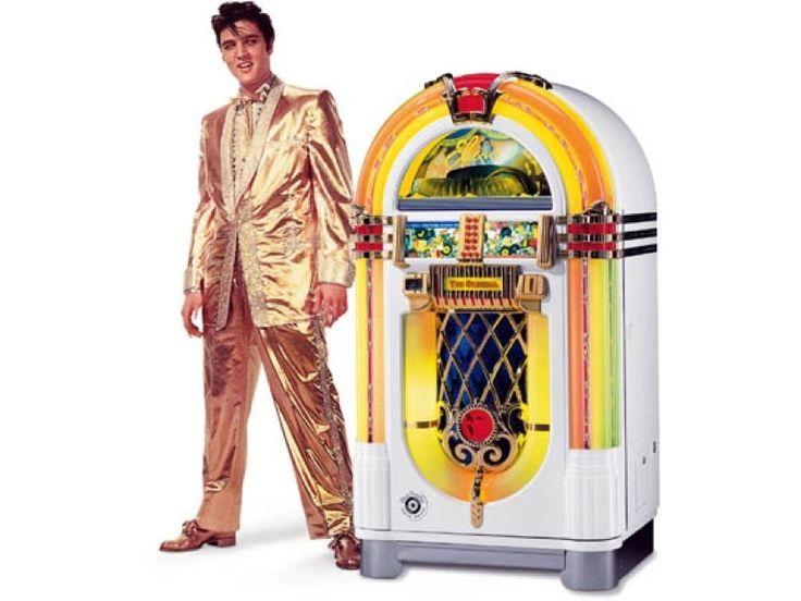 Elvis Wurlitzer Jukebox Limited Edition With 100 CD