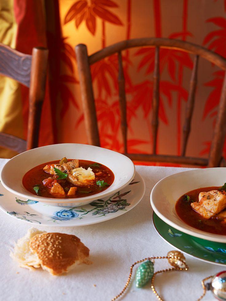 Fisherman's soup (halaszle)