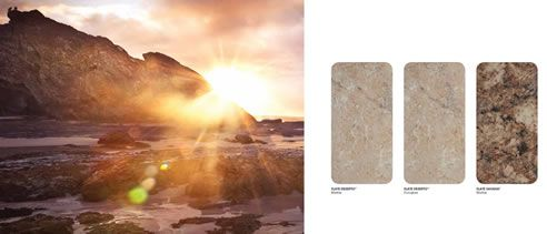 stone look laminate swatches #designer Laminates for #kitchen and #bathroom