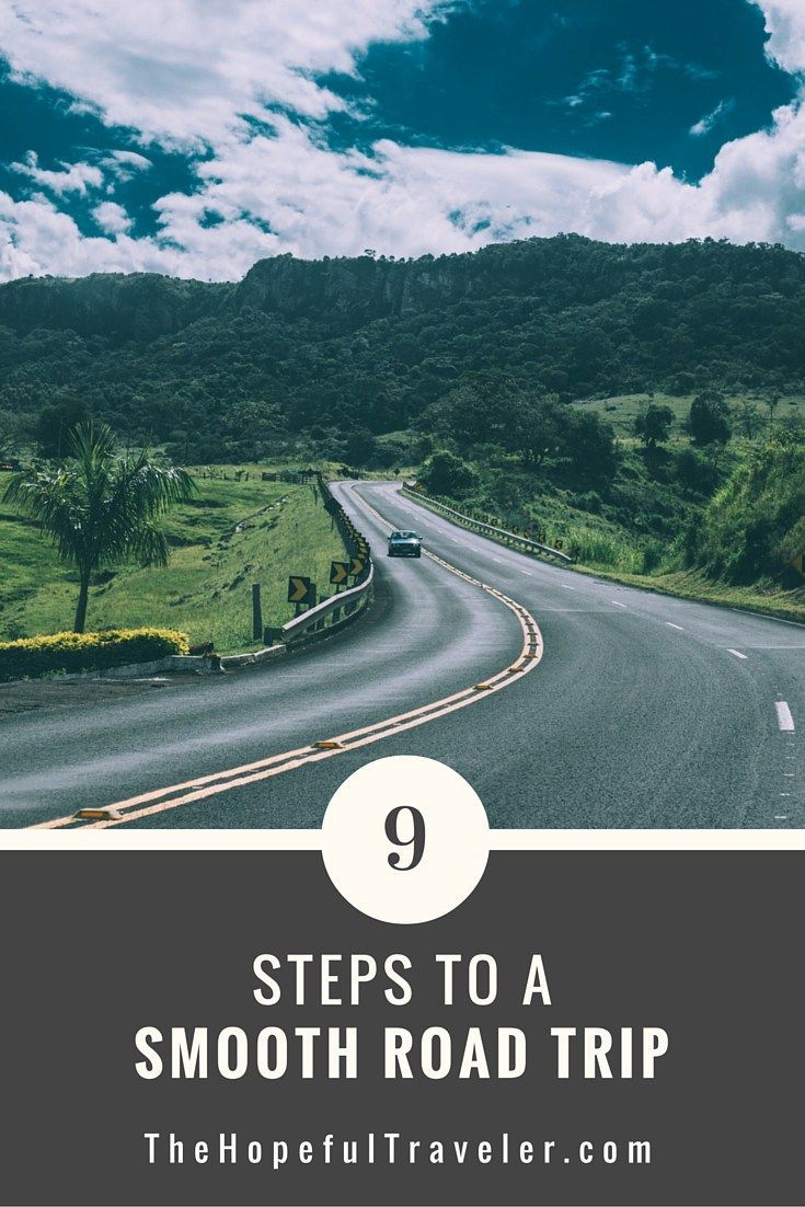9 Steps to a Smooth Road Trip