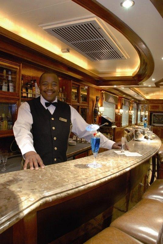 The Blue Train Club Lounge
