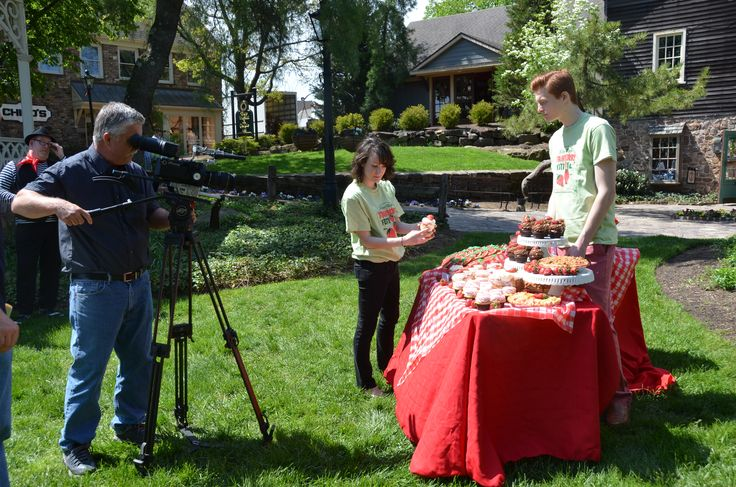 Behind the scenes of our Strawberry Festival commercial airing this Friday, May 13 through next Saturday, May 21st on CBS 3 in Philly!
