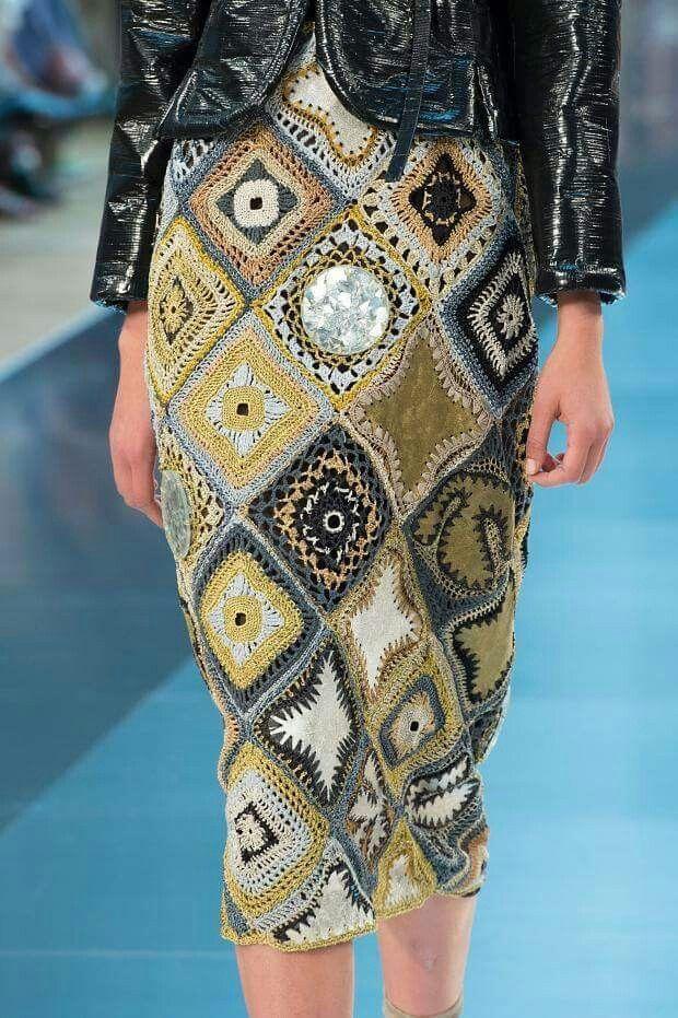 Crochet Granny Skirt - Crochet Inspiration