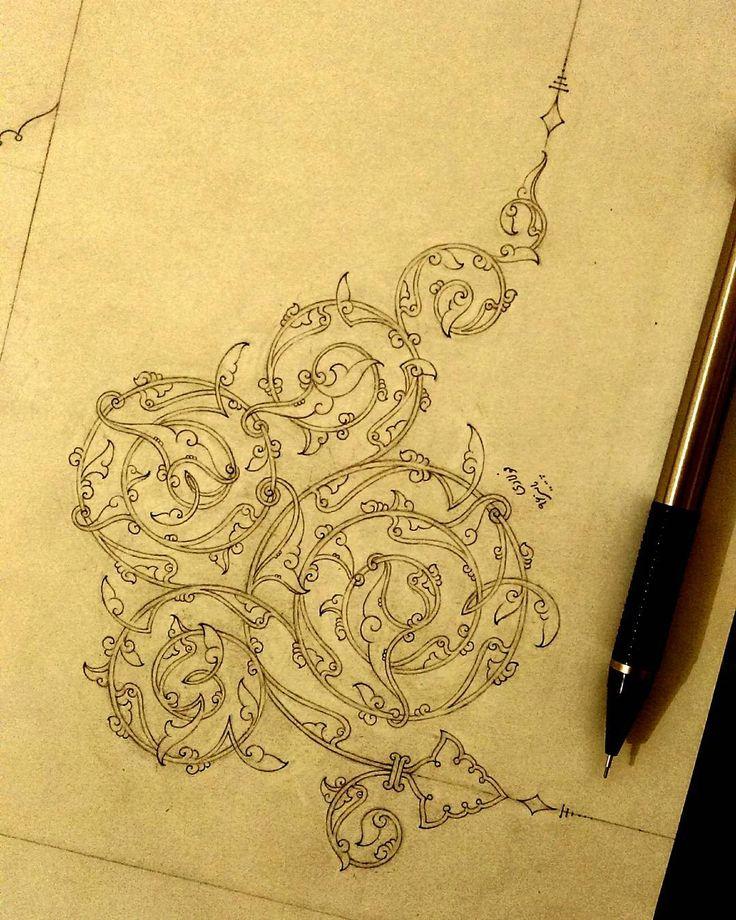 ✨ طراحی با مداد...