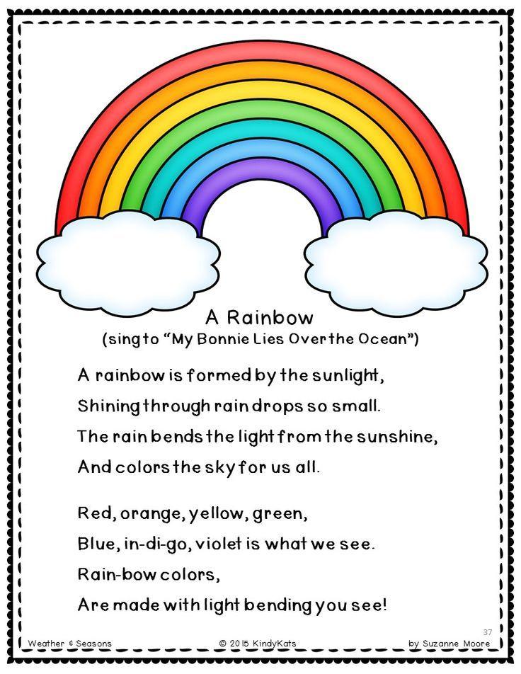 Kinder Garden: Weather + Seasons Songs & Rhymes