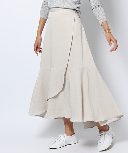 【ZOZOTOWN|送料無料・「ツケ払い」ならお支払は2ヶ月後】BARNYARDSTORM(バンヤードストーム)のスカート「【otonaMUSE11月号掲載 佐田真由美さん着用】 BARNYARDSTORM / エアリーラップスカート」(733567)をセール価格で購入できます。
