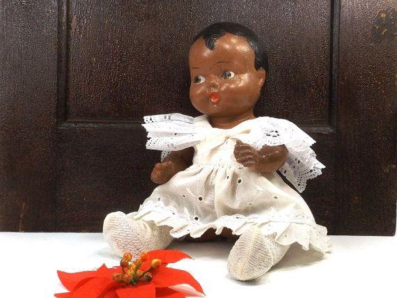 30 s 40 s vintage composite bébé poupée par RecycleBuyVintage