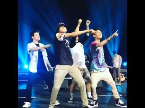 Matthew Espinosa, Aaaron Carpenter, Carter Reynolds Dancing