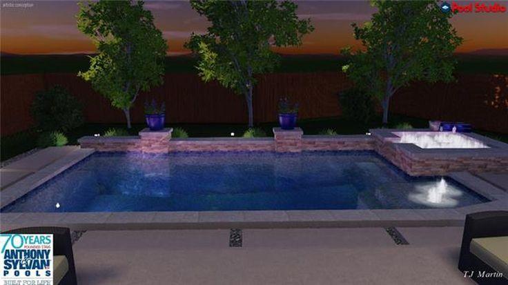 20 best swimming pools images on pinterest swimming pools pool ideas and pools for Royal swimming pools memphis tn