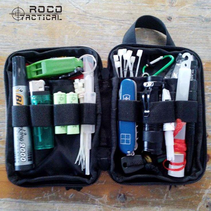 [Visit to Buy] ROCOTACTICAL Military Wallet Pocket EDC Travel Military Sports Pocket Organizer Military Utility Phone Pouch Bag Cordura Nylon #Advertisement