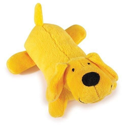 Zanies Neon Lil' Yelper Dog Toys Yellow 5""