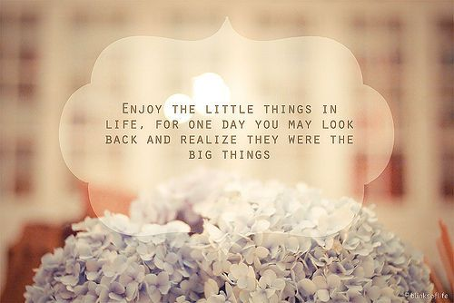 Enjoy the little things...: Little Things, Life, Big Things, Inspiration, Quotes, So True, Littlethings, Enjoy
