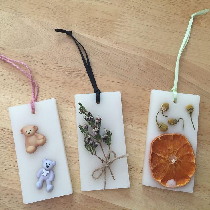 Wax tablet Perfumer Handmade by demiris