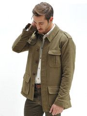 Moleskin Bush Jacket http://geraldwebster.com/collections/mens-apparel/products/moleskin-bush-jacket