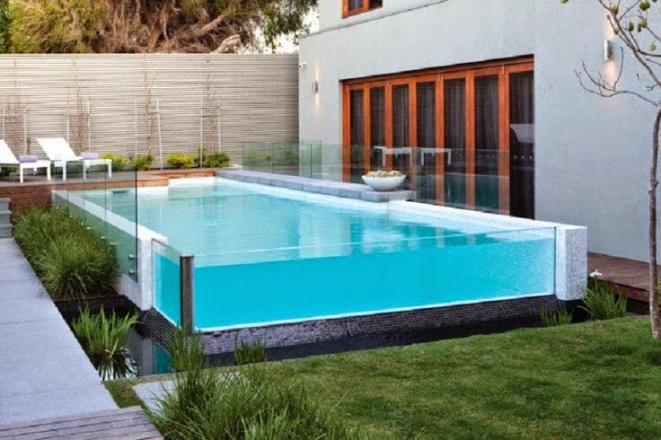 FRAMELESS GLASS POOL DESIGN