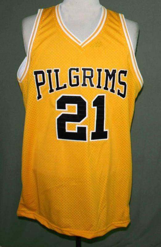 Finding Forrester Jamal Wallace Pilgrims Movie Basketball Jersey